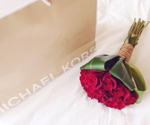 roses, Michael Kors, and flowers image