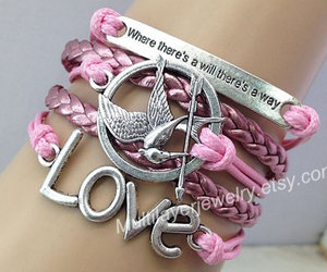 inspirational, love bracelet, and infinity bracelet image