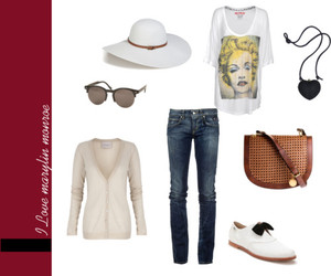 fashion, Polyvore, and glasses image