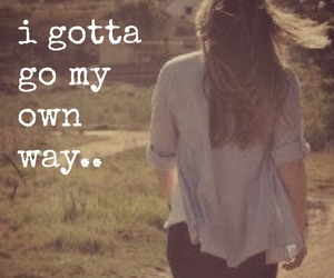 girl, independent, and let go image