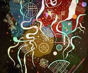 abstraction, paint, and wassily kandinsky image