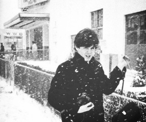 snow, the beatles, and winter image