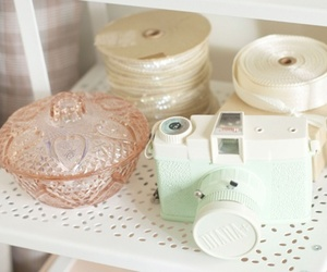 camera, pastel, and vintage image