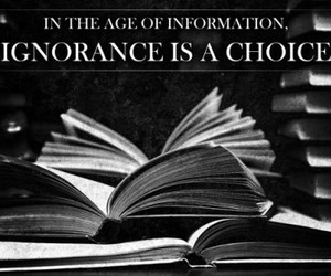 ignorance and knowledge image