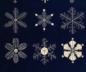 snow, snowflake, and winter image