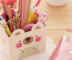 cute, kawaii, and pink image