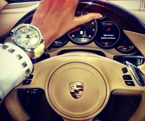 girly, nails, and watch image