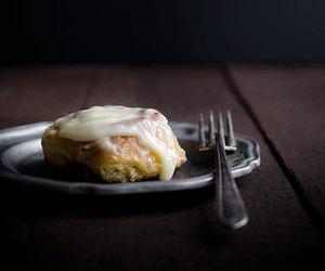 bread, cream cheese, and orange image