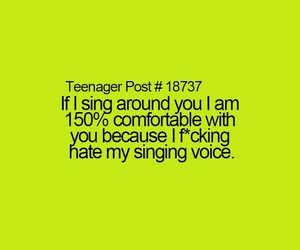 comfortable, singing, and songs image