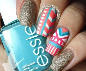 nails and tribal image