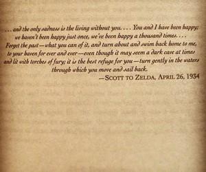 love letter, scott, and zelda image