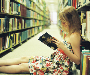 :33, books, and girl image