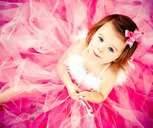 cute, pink, and child image