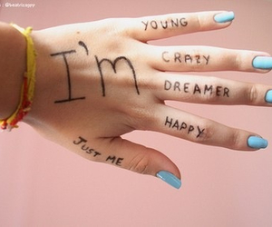crazy, dreamer, and happy image