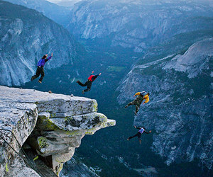 jump and nature image