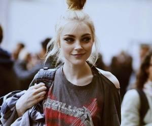 girl, metallica, and blonde image