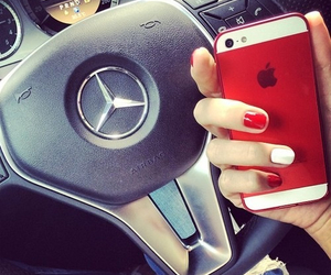 car, iphone, and nails image