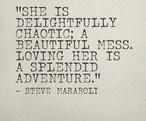 love, quotes, and adventure image