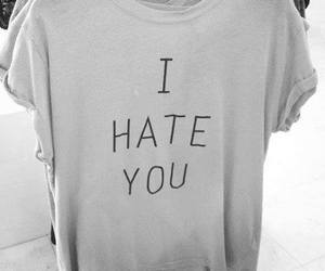 black and white, clothes, and haters image