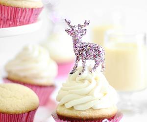 beautiful, cupcake, and holiday image