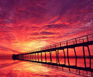 beautiful, photography, and sunset image