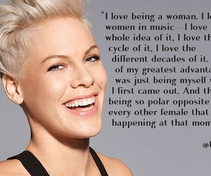 beautiful, gorgeous, and P!nk image