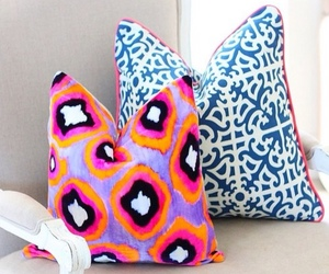 decor, design, and pillows image