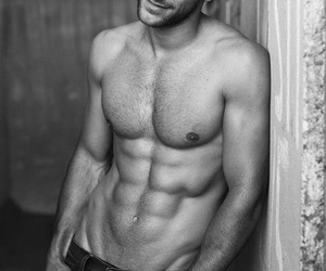 abs, black, and b&w image