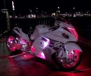 pink and motorcycle image