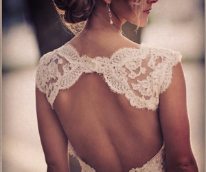 bride, perfect, and dress image