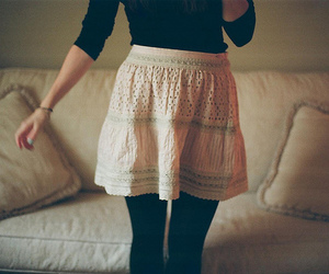 girl, skirt, and photography image