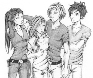 jace, clary fray, and alec image
