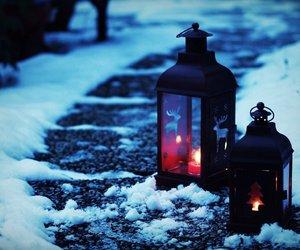 amazing, light, and snow image