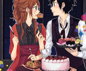 horimiya, manga, and love image