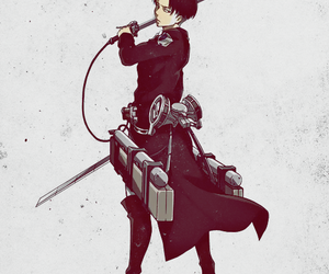 anime and levi image