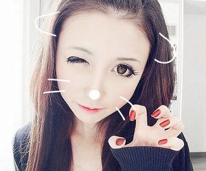 cute, girl, and ulzzang image