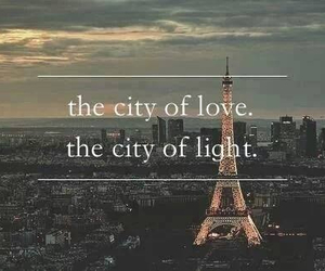 paris, love, and light image
