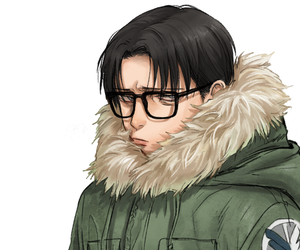 anime, rivaille, and levi ackerman image