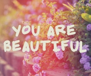 beautiful, flowers, and you image