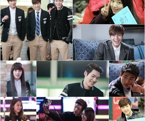 behind the scenes and the heirs image