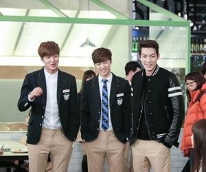 the heirs, lee min ho, and kim woo bin image