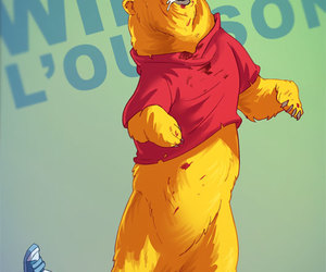 bear, color, and yellow image