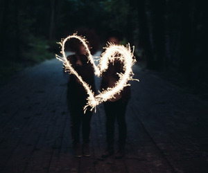 fun, heart, and light image