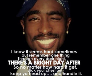 tupac, 2pac, and quote image