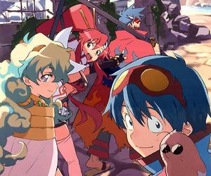 gurren lagann, anime, and kamina image