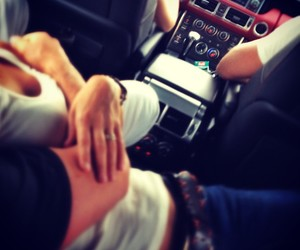 car and couples image