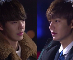 heirs, lee min ho, and kim woo bin image