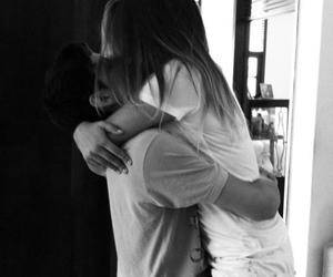 boy, couples, and hug image