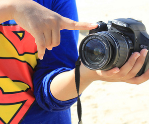 superman, camera, and canon image