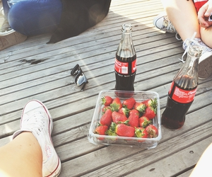 cola, converse, and summer image